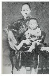 Tran Van Khe & Me 1924.JPG (10659 bytes)